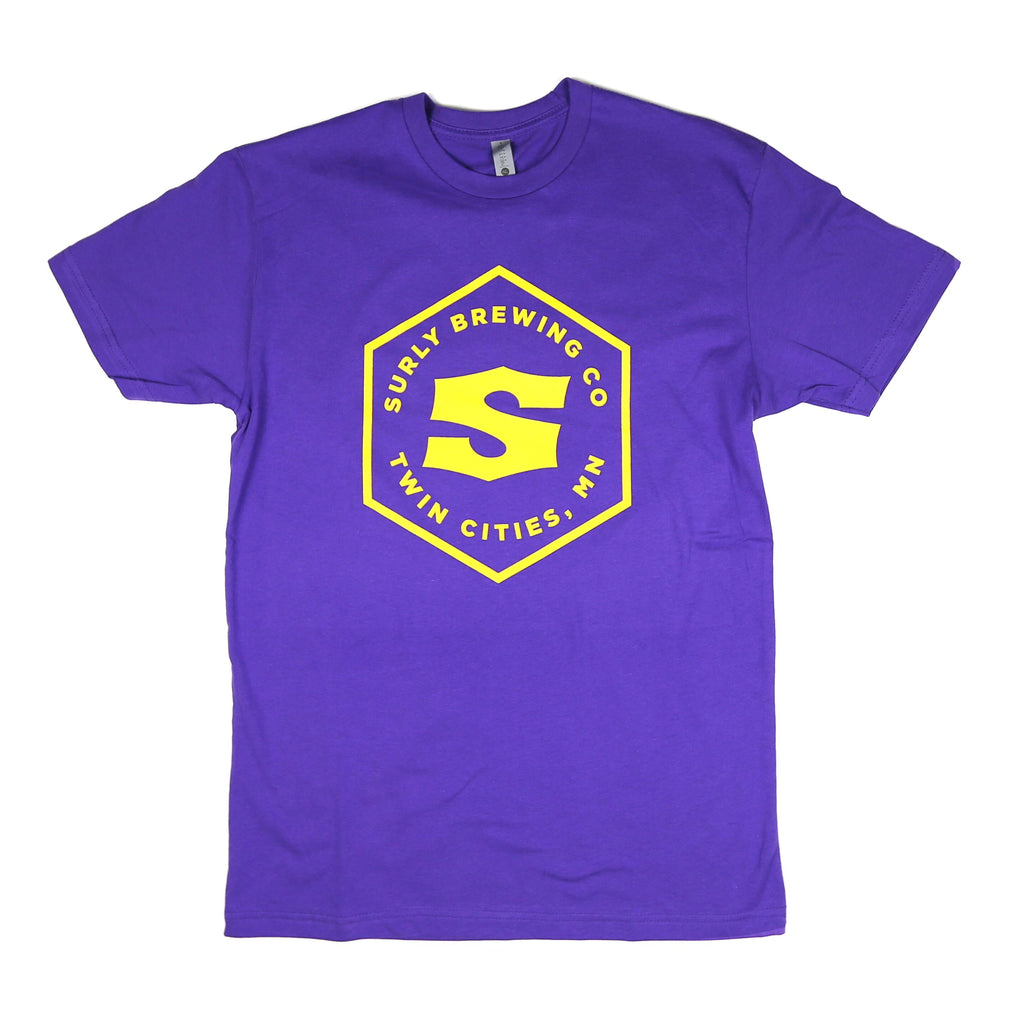 Hex Logo Sports Tee - Purple