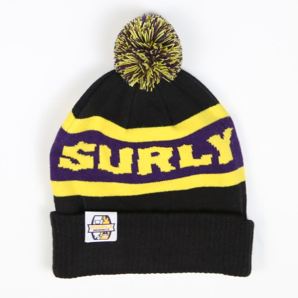 MN Football Pom Beanie - Purple