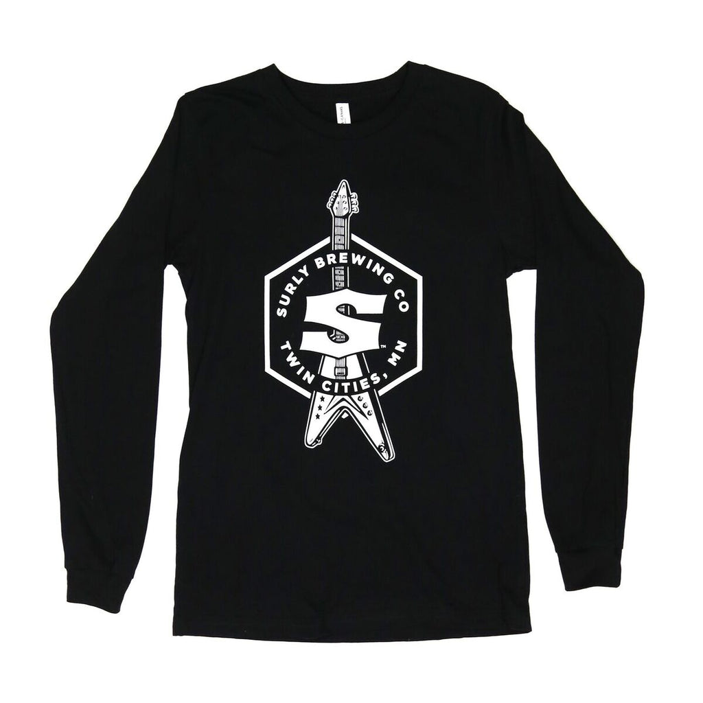Surly Music Long Sleeve Tee - Black