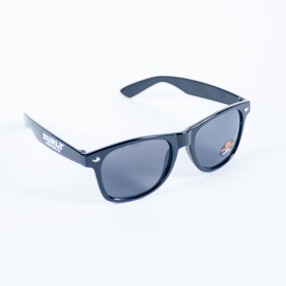 Text Logo Sunglasses - Black