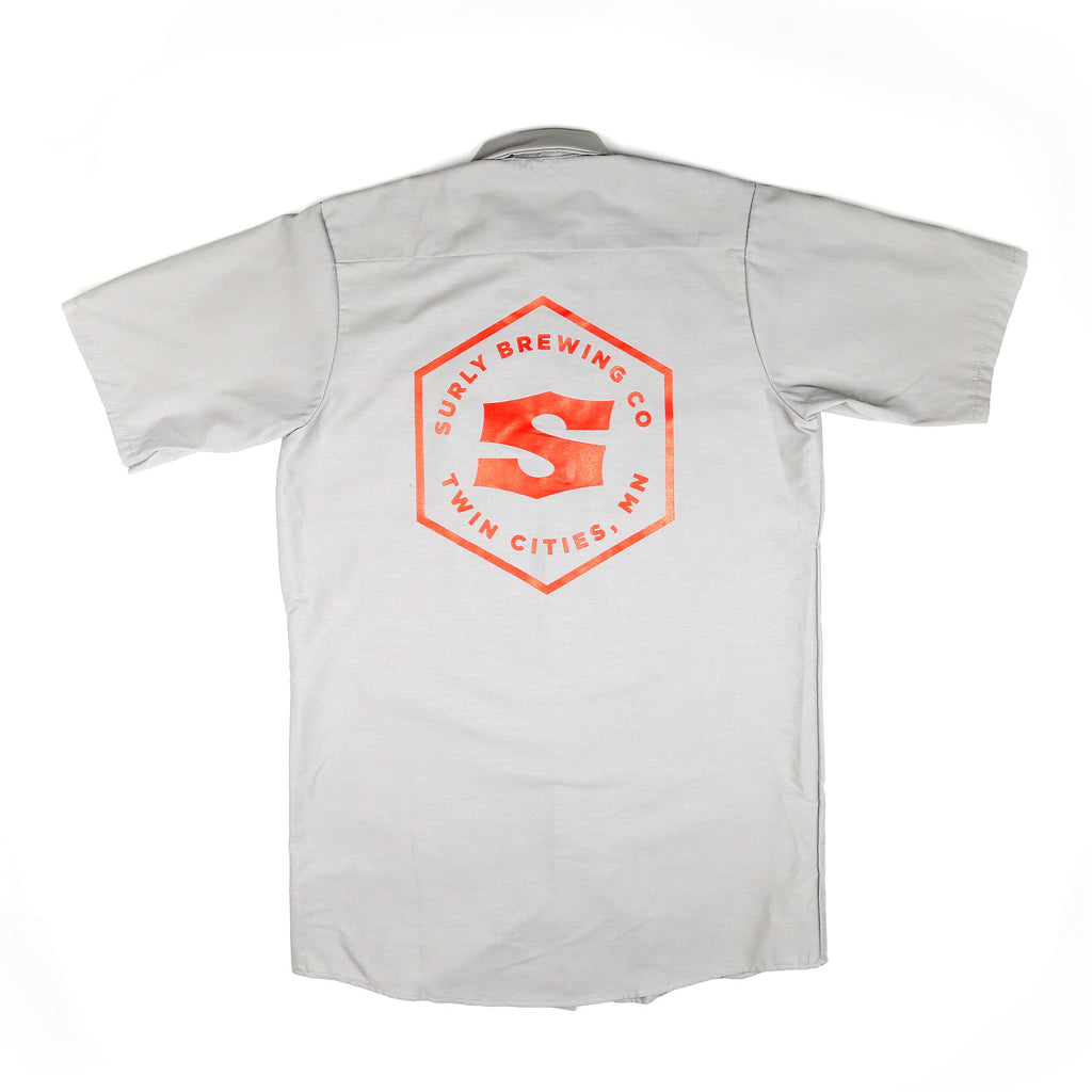 Hex Logo Work Shirt - Grey
