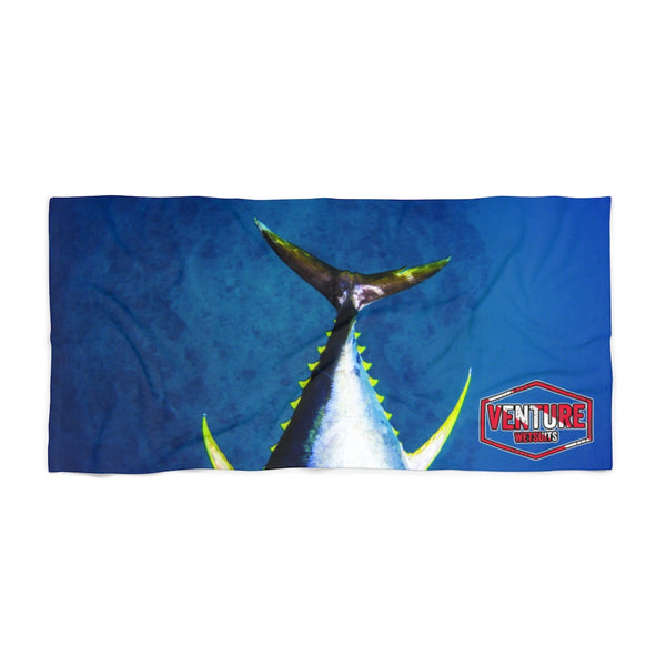 Ahi Tail Towel