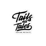 Tails Not Tales Sticker