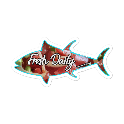 Fresh Fish Daily Sticker