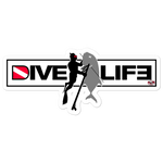 Dive Life Sticker
