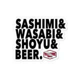 Sashimi Sticker