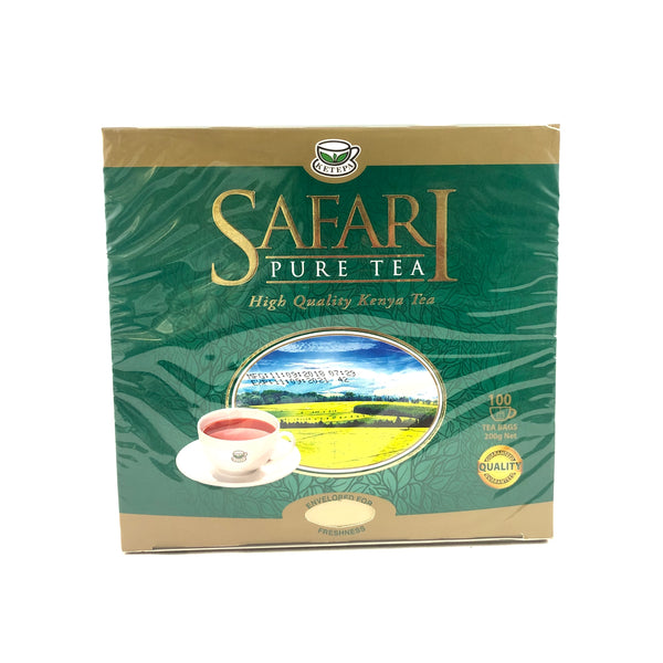 Safari Pure Tea - 100 Tea Bags