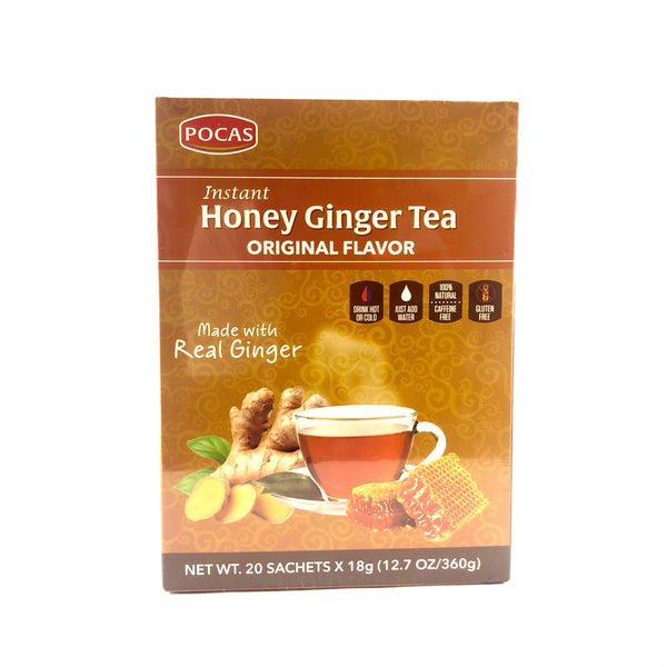 Instant Honey Ginger Tea - Original Flavor