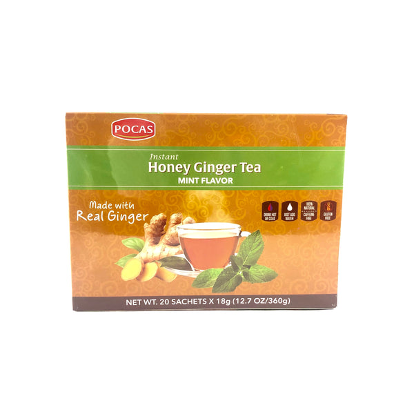 Instant Honey Ginger Tea - Mint Flavor