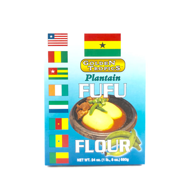 Golden Tropics Plantain Fufu