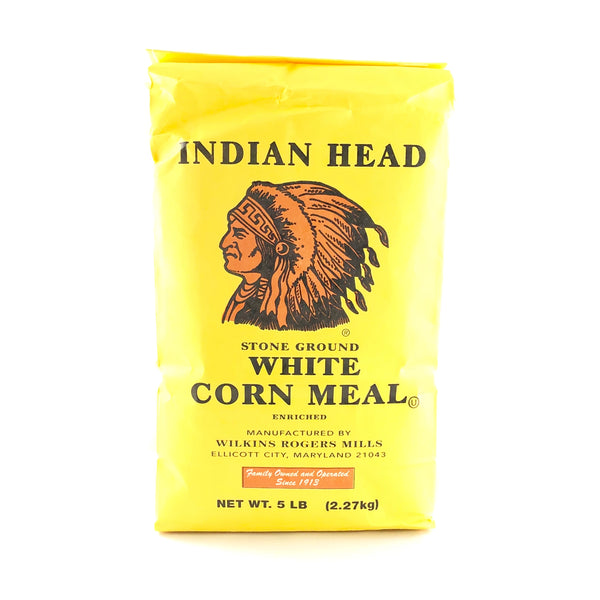 Indian Head White Corn Meal