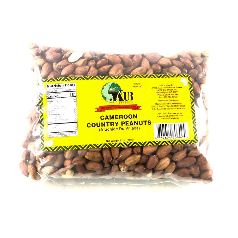 Cameroon Country Peanuts 12oz