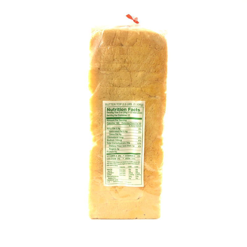 Thomas Butter Top Bread - Whole