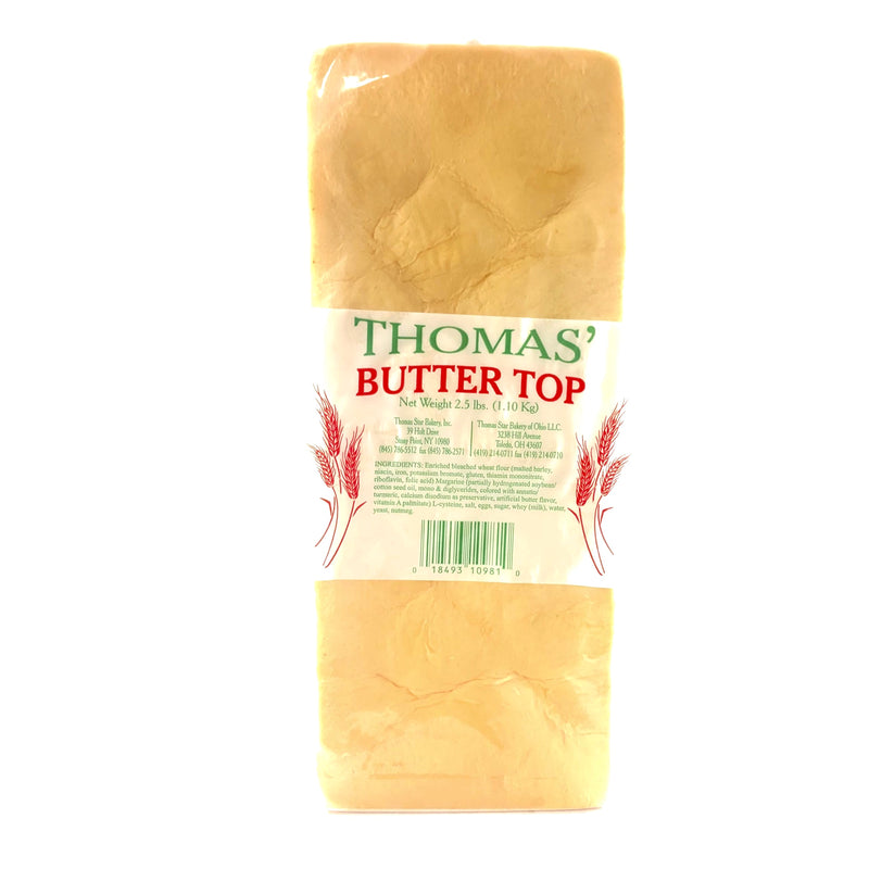 Thomas Butter Top Bread - Sliced