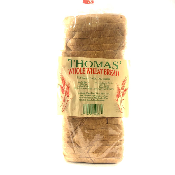 Thomas Whole Wheat Bread