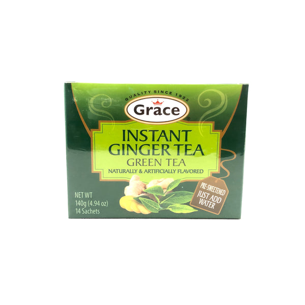 Instant Ginger Tea - Green Tea