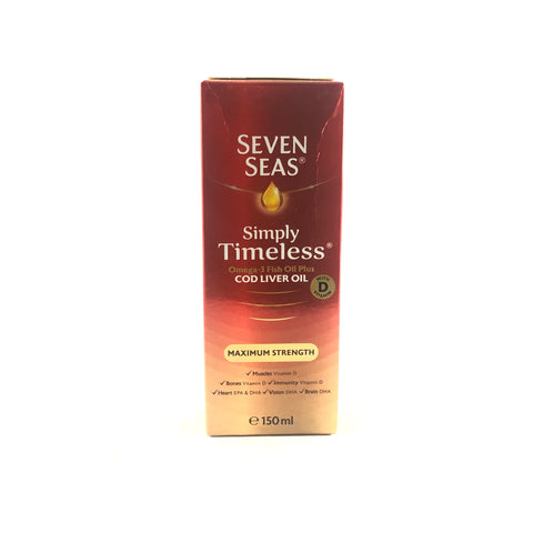 Seven Seas Maximum Strength Cod Liver Oil - Liquid 150ml