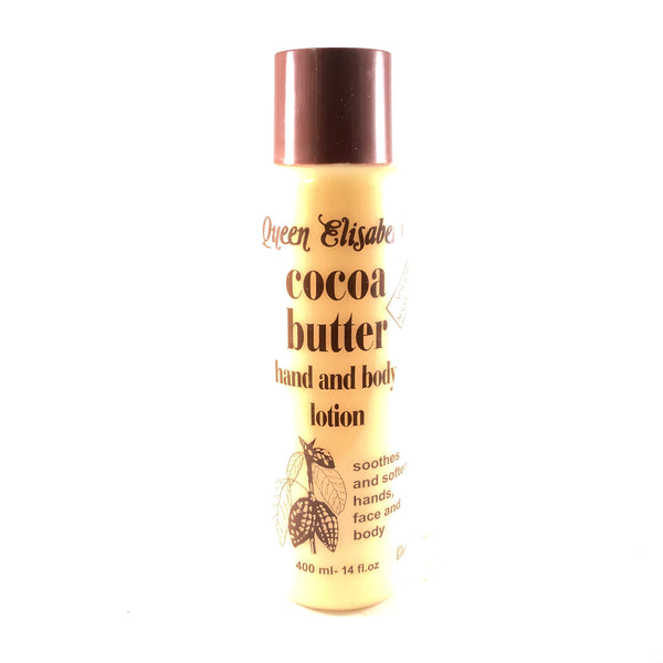 Queen Elizabeth Cocoa Butter Hand and Body Lotion