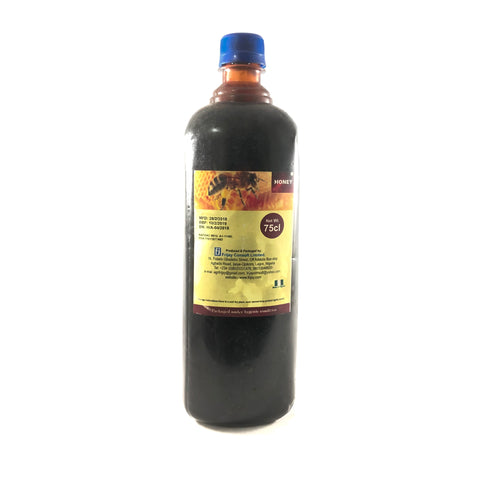 Nigerian Natural Raw Honey 75cl