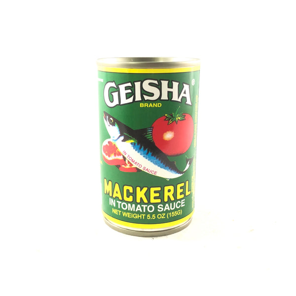 Geisha Mackerel in Tomato Sauce 5.5oz