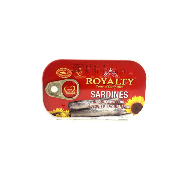 Royalty Sardines in Sunflower Oil
