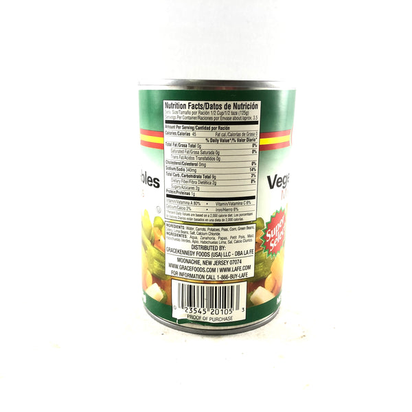 La Fe Mixed Vegetables 15oz