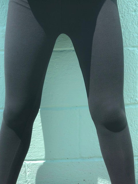 Charcoal Solid Leggings