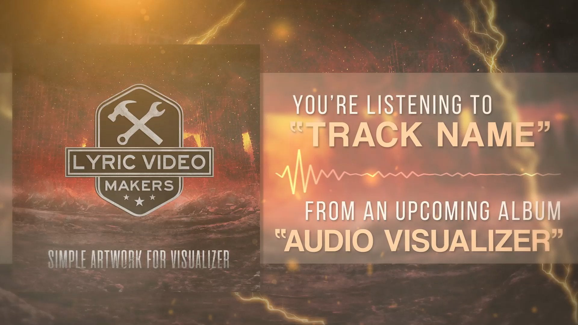 #004 – Premium Audio Visualizer Template (After Effects Project) - lyric-video-shop