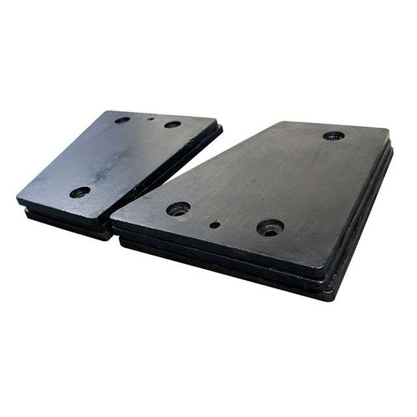 Lower Left Cheek Plate - Pegson 26x44 XA/XR400 - HDX400 Alloy