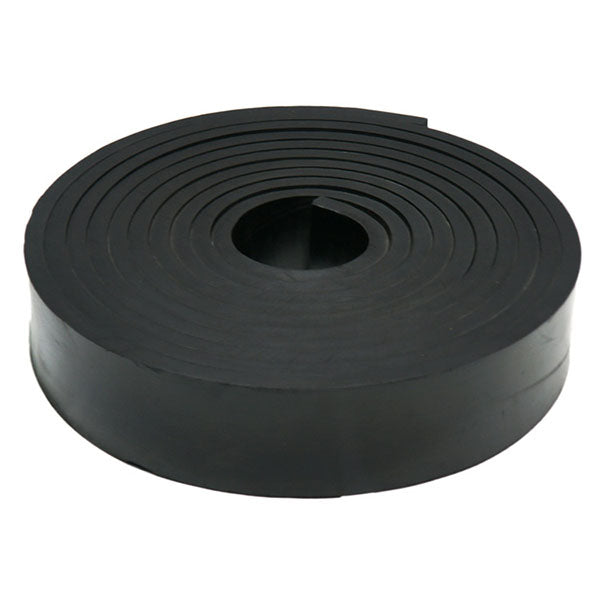 "Skirtboard Rubber 3/4"" X 10"" X 50' Roll"