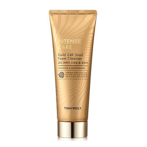 Intense Care 24K Gold Snail Foam Cleanser