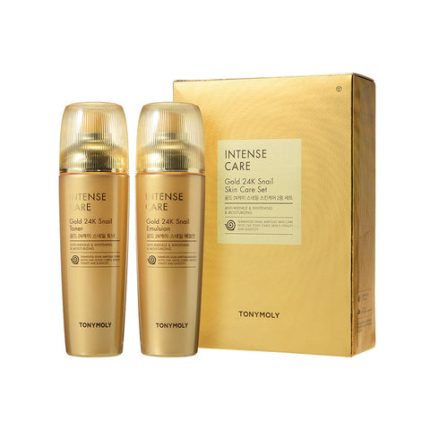INTENSE CARE Gold 24K Snail SKIN CARE SET