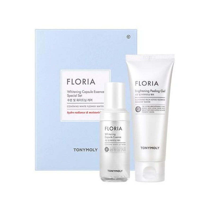 [SET] FLORIA WHITENING CAPSULE ESSENCE & PEELING SET