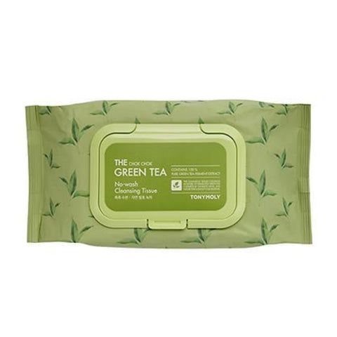 THE CHOK CHOK GREEN TEA CLEANSING TISSUE_100pcs