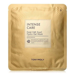 Intense Care Snail Gold 24k Hydrogel Mask