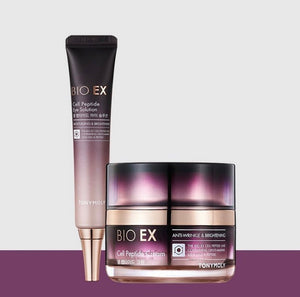 BIO EX Cell Peptide CREAM & EYE CREAM Set