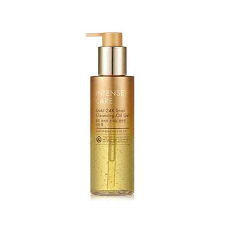 [ BUY 1 GET 1 FREE ] Intense Care Gold 24K Snail Cleansing Oil Gel