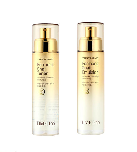 Timeless Ferment Snail Toner and Emulsion Set