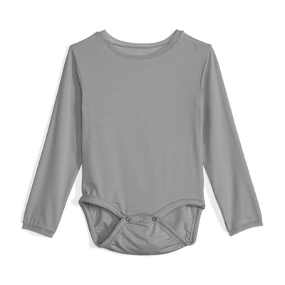 Baby Girls Cry-Free Long Sleeve Onesie with Mesh