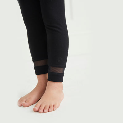 Girls Mesh Cuff Legging