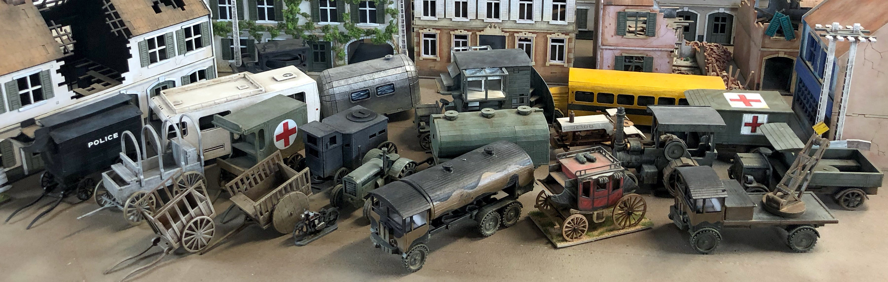 Sarissa Precision Wheeled Vehicle collection
