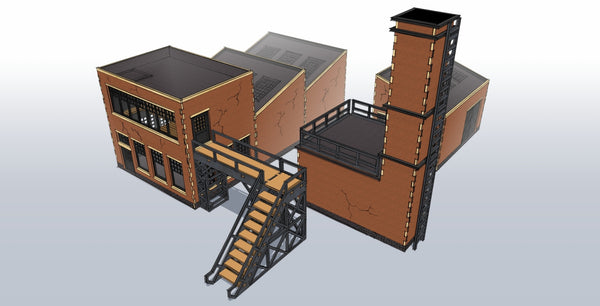 Industrial Factory Bundle 1 - 15mm