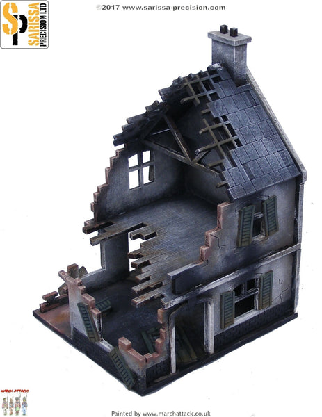 Bombed Out House (20mm)
