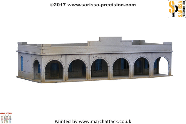Single-Storey Souk Building - 15mm