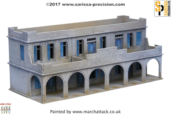 Two-Storey Souk Building - 15mm