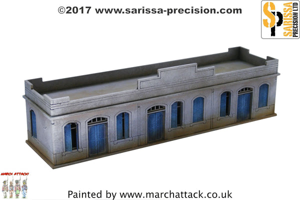 Large Single-Storey Building - 15mm