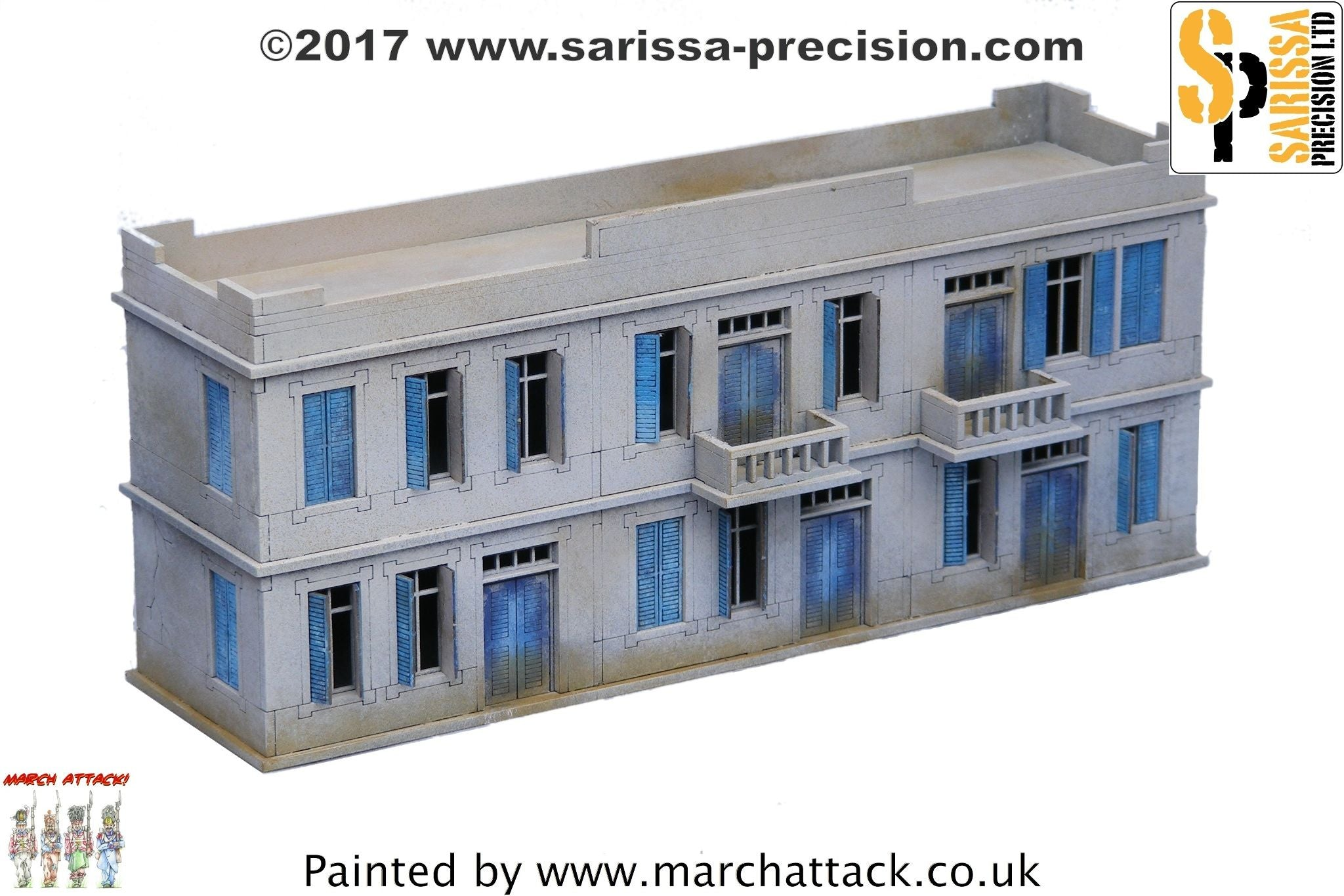 Large Two-Storey Building  - 20mm