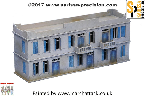 Large Two-Storey Building - 15mm