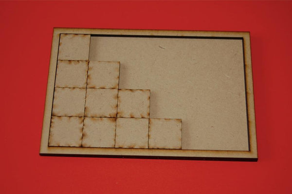 7x4 Movement Tray for 20x20mm bases
