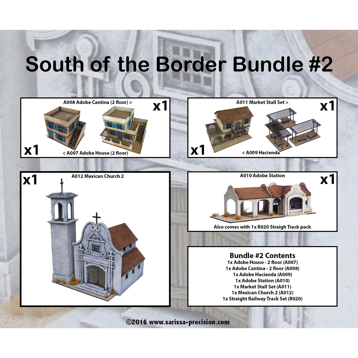 South of the Border Bundle #2